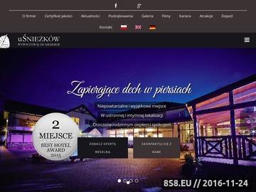 Zrzut strony UŚnieżaków - Catering