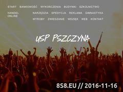 Miniaturka domeny www.usppszczyna.pl