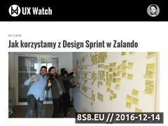 Miniaturka domeny uxwatch.pl