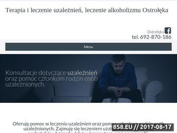 Zrzut strony Leczenie alkoholizmu Ostrołęka