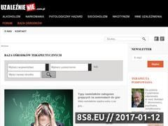 Miniaturka domeny uzaleznienie.com.pl