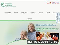 Miniaturka domeny www.uzdrowisko-cieplice.pl