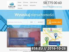 Miniaturka domeny www.uzlis-nieruchomosci.pl
