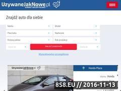 Miniaturka domeny www.uzywanejaknowe.pl