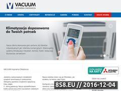 Miniaturka domeny www.vacuum.net.pl