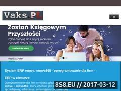 Thumbnail of Autoryzowany partner enova - Vaks.PL Website