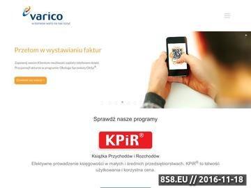 Zrzut strony Korekta kosztów w KPIR