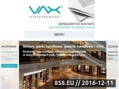 Miniaturka domeny www.vax.com.pl