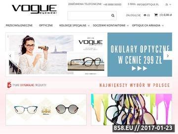 Zrzut strony Okulary przeciwsłoneczne Vogue