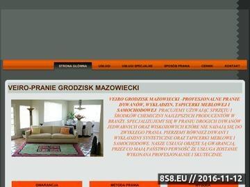 Zrzut strony Veiro Grodzisk Mazowiecki - pranie dywanów, wykładzin, tapicerki meblowej i samochodowej