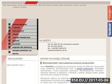 Zrzut strony Pokrycia dachowe Szczecin
