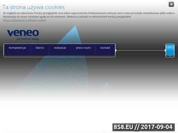 Zrzut strony Marketing internetowy