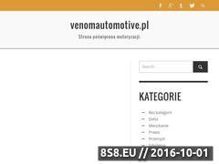 Miniaturka domeny www.venomautomotive.pl
