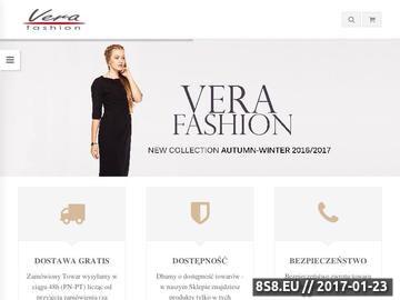 Zrzut strony Producent eleganckich sukienek na każdą okazję
