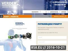 Miniaturka domeny www.verder.pl