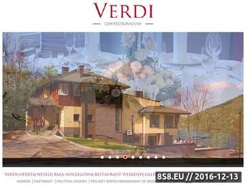 Zrzut strony Verdi Dom Weselny