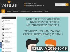 Miniaturka domeny www.versus-reklama.pl