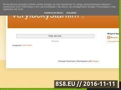 Miniaturka domeny www.veryluckystar.pl