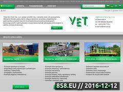 Miniaturka Maszyny i urządzenia - Vibro-Eco-Tech (www.vet.com.pl)
