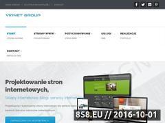 Miniaturka domeny www.vianetgroup.pl