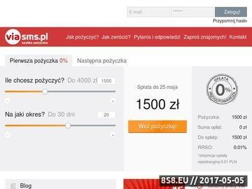 Zrzut strony Viasms.pl