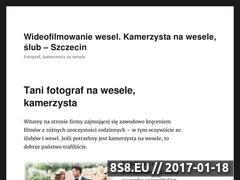 Miniaturka domeny www.video-filmowanie.szczecin.pl