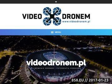 Zrzut strony Video i Foto relacje z drona