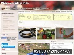 Miniaturka domeny videokatalog.info