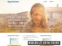 Miniaturka domeny www.vigantoletten.pl