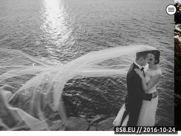 Zrzut strony Fotografia ślubna i wizerunkowa