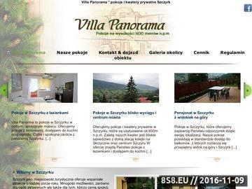 Zrzut strony Apartament Szczyrk Villa Panorama