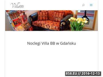 Zrzut strony Villa BB - noclegi