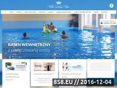 Miniaturka domeny www.villadolcevita.pl