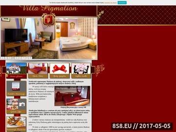 Zrzut strony Villa Pigmalion noclegi