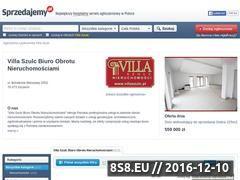 Miniaturka domeny villaszulc.sprzedajemy.pl