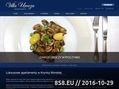 Miniaturka domeny www.villaurocza.pl