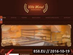 Miniaturka domeny www.villawenel.pl