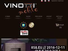 Miniaturka domeny www.vinotti.eu