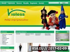 Miniaturka domeny violess.pl