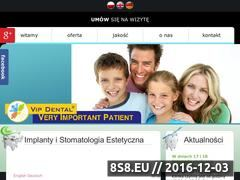 Miniaturka domeny vipdental.pl