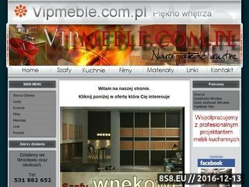 Zrzut strony Szafy wnękowe Garderoby Meble kuchenne Wrocław