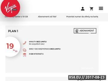 Zrzut strony Konfiguracja APN
