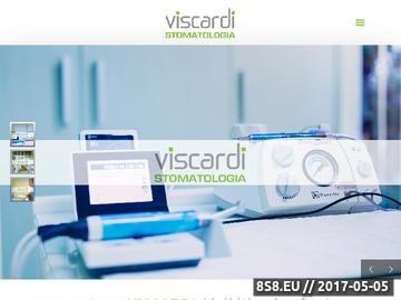 Zrzut strony Viscardi dentysta Katowice