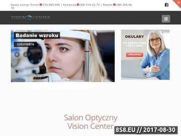 Zrzut strony Badanie oczu i wzroku