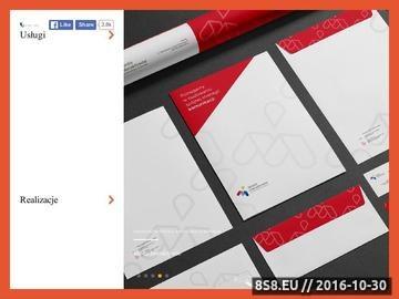 Zrzut strony Tworzenie stron internetowych oraz identyfikacja wizualna firmy