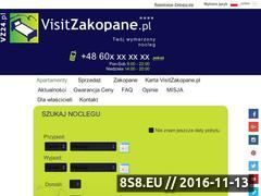 Miniaturka domeny visitzakopane.pl