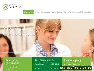 Zrzut strony Vis Med Kraków - implanty zębów