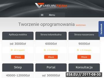 Zrzut strony Tworzenie stron www Warszawa