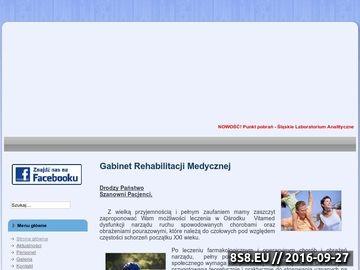 Zrzut strony Gabinet Medycyny i Rehabilitacji
