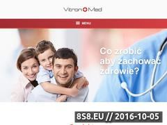 Miniaturka domeny vitronmed.pl